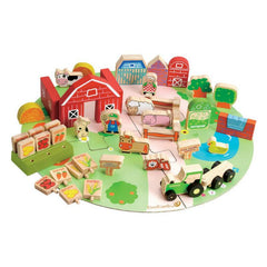 53pcs Organic Farm Play Set