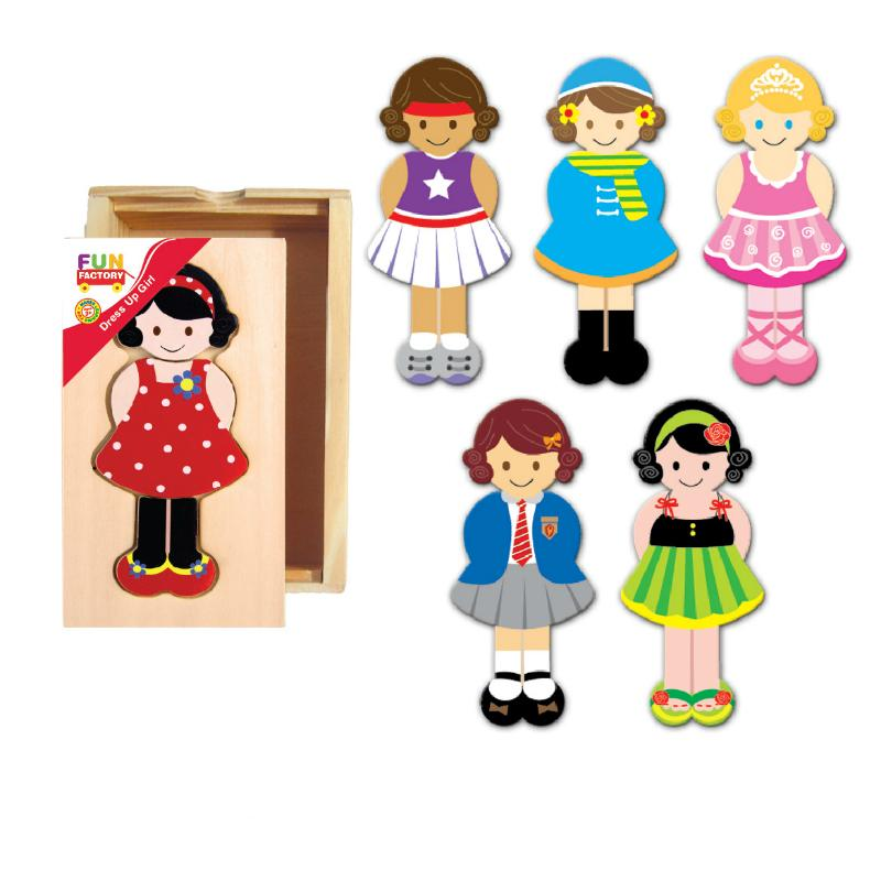 Fun Factory Dress Up Girl
