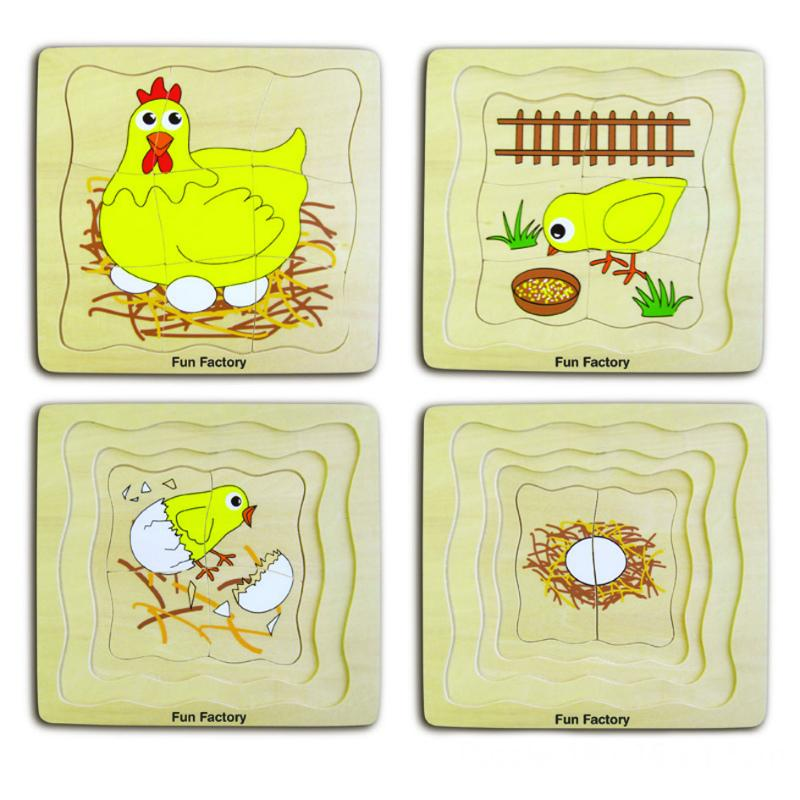 Fun Factory Chicken Layer Puzzle