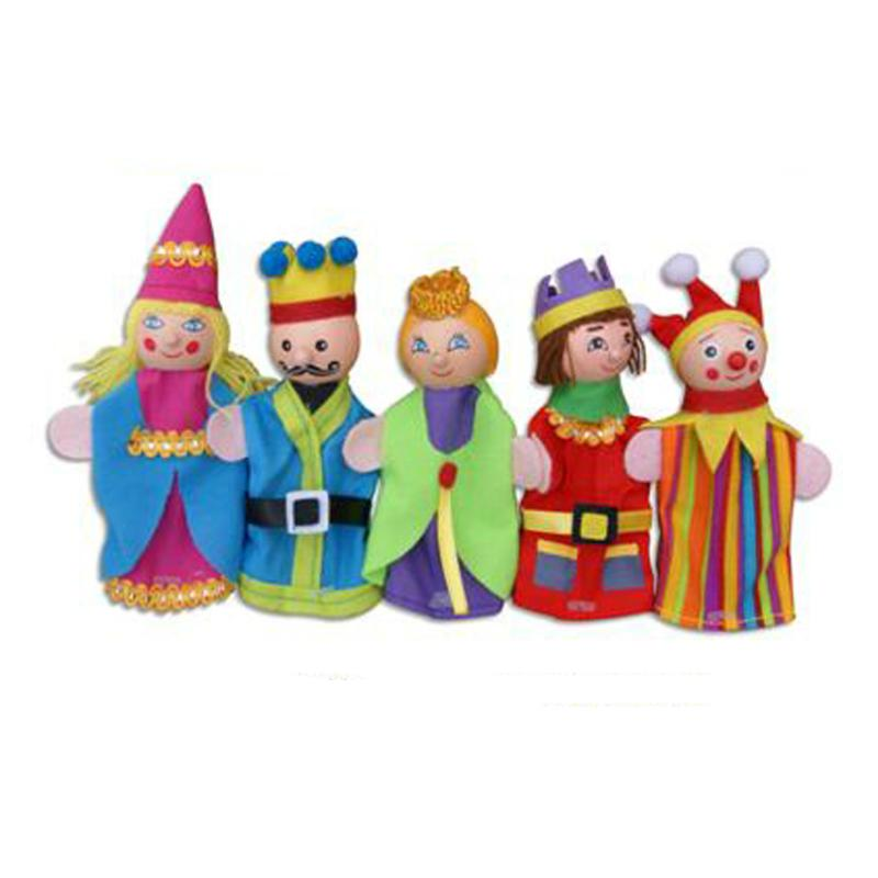 Fun Factory Finger Puppet King & Queen - 5pc