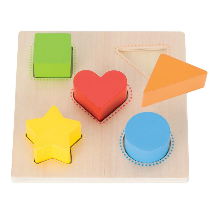 Goki Colour & Shape Assorting Board