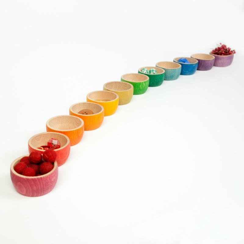 Grapat Coloured Bowls (Set of 12)