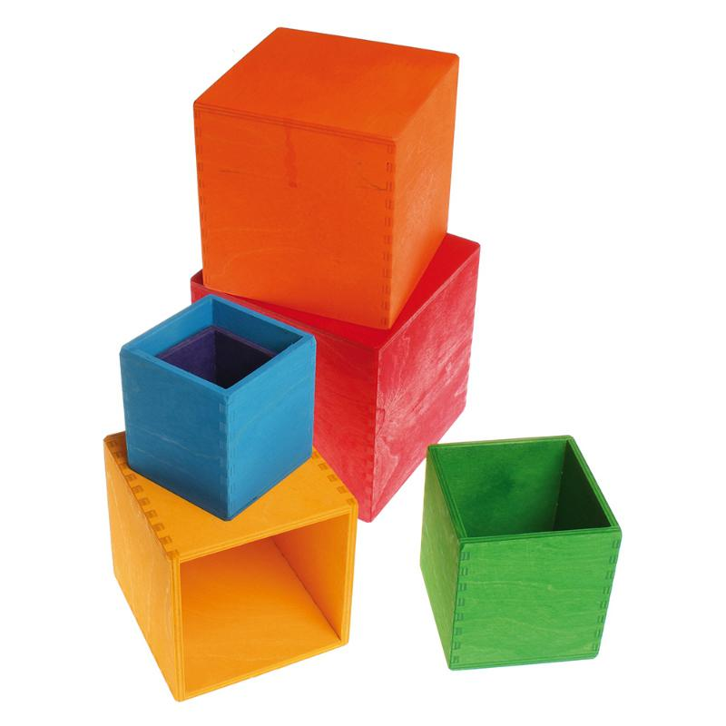 Stacking Boxes - Rainbow