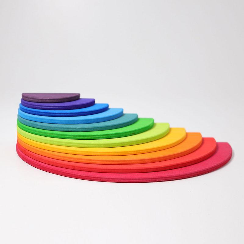 Grimm's Semi Circle Large Wooden Rainbow 3