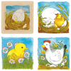 Goki Chicken Life Cycle 4 Layer Puzzle