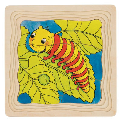 Goki Butterfly Life Cycle 4 Layer Puzzle