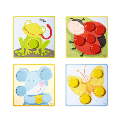 Haba Matching Game Multicoloured Animals