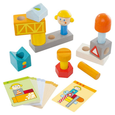 Haba Pegging Game Building Site