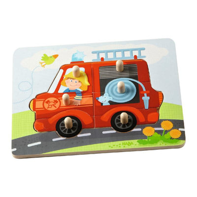 Haba Fire Truck Peg Puzzle