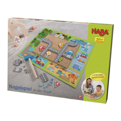 Haba Geo Shape Tack Zap in Town Packaging