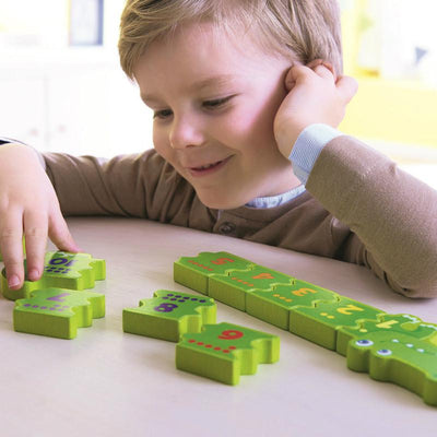 Haba Matching Game Number Crocodile