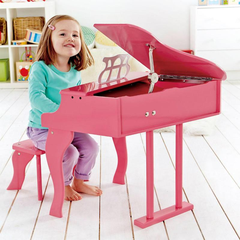 Hape Happy Grand Piano - Pink