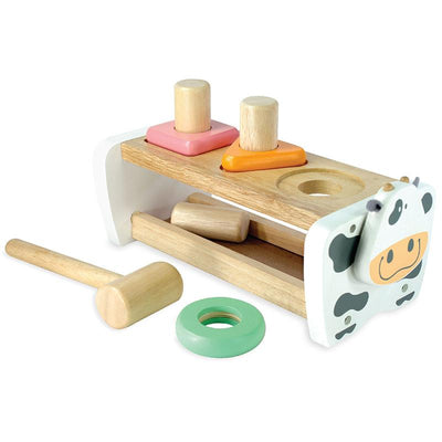 I'm Toy Cow Geo Shape Sorter Pastel Pieces