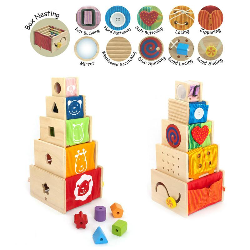 I'm Toy 5 Activity Stackers