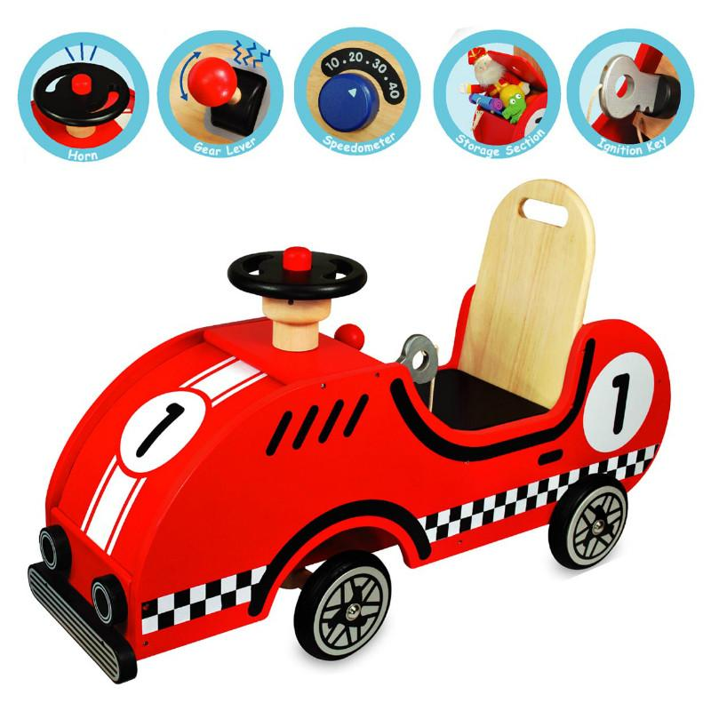I'm Toy Race Car Ride On