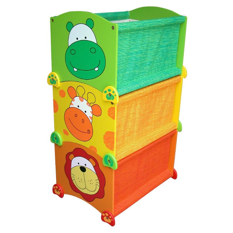 Stack Up Toy Box - Hippo