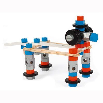Janod BricoKids DIY Barrel 100 Pcs