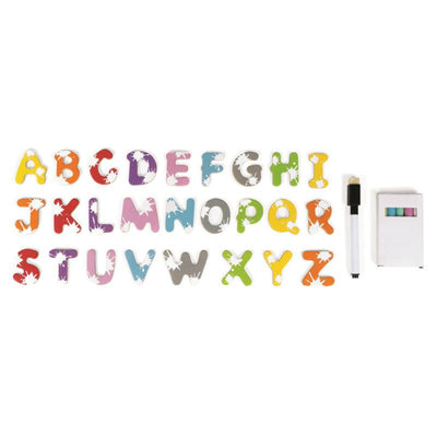 Janod Splash Magnetic Board Letetrs
