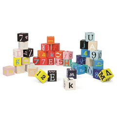 40 Letter & Number Blocks