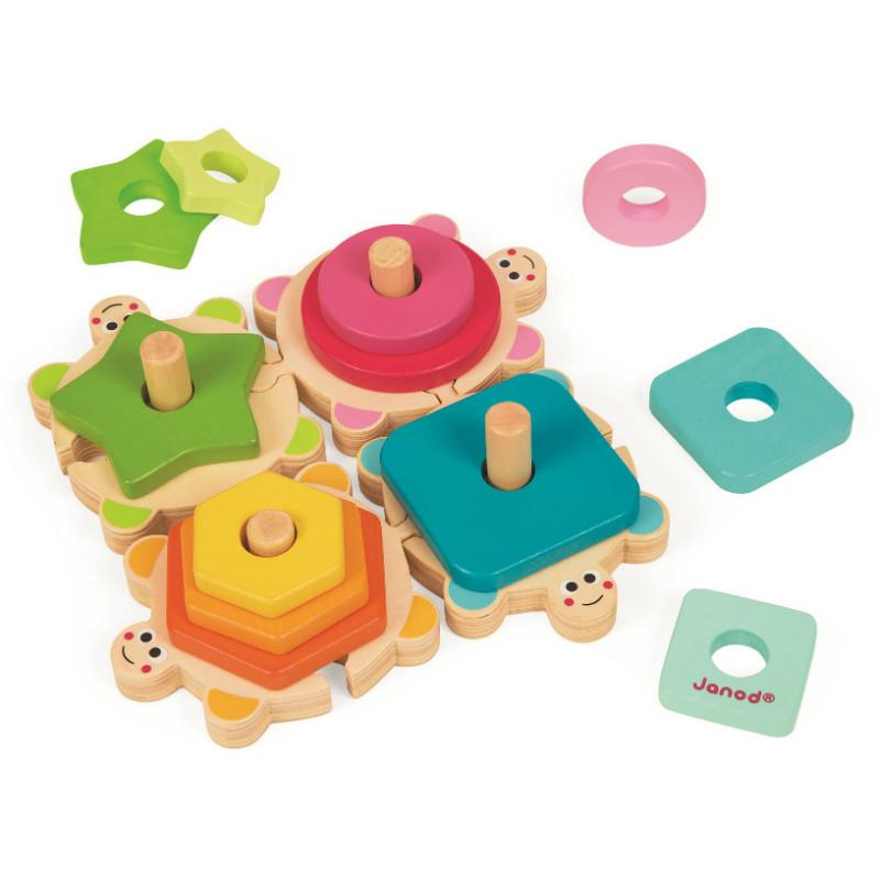 Janod Stackable Turtles