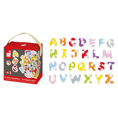 Splash 52 Magnetic Letters with Box