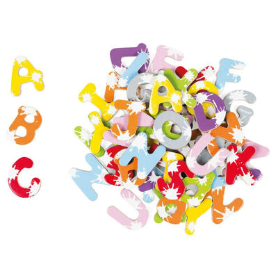 Janod Splash 52 Magnetic Letters