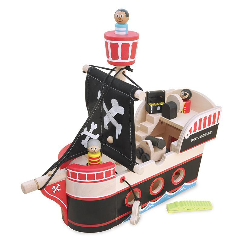 Indigo Jamm Jolly Jack Pirate Ship