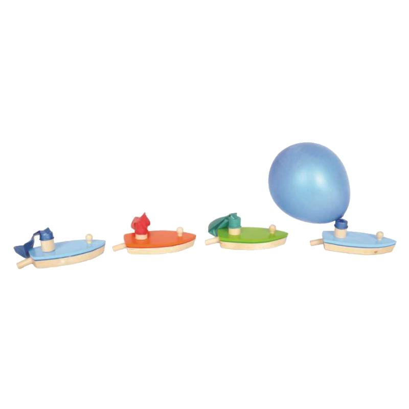 Kaper Kidz Balloon Powered Wooden Boat