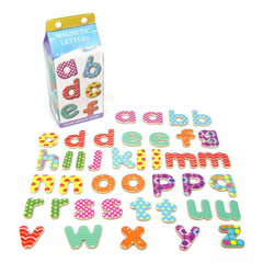 Magnetic Letters Lowercase in a Carton
