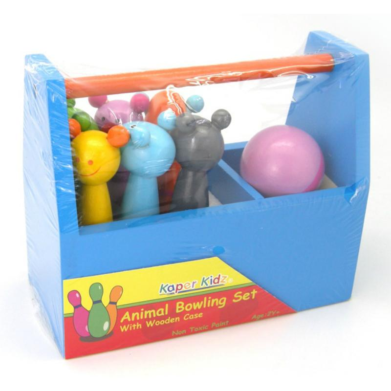 Kaper Kidz Animal Bowling Set