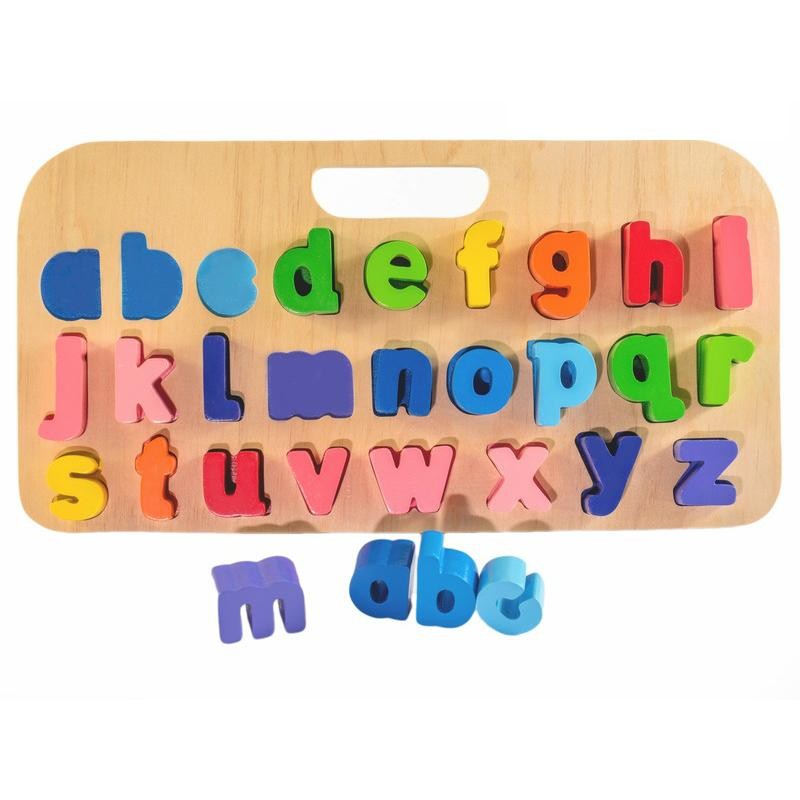 Kiddie Connect Carry Around ABC Puzzle - Lower Case