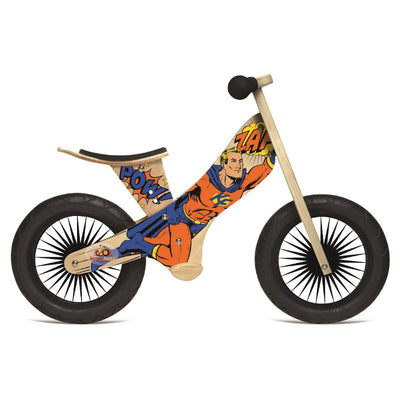 Kinderfeets Retro Balance Bike - Superhero