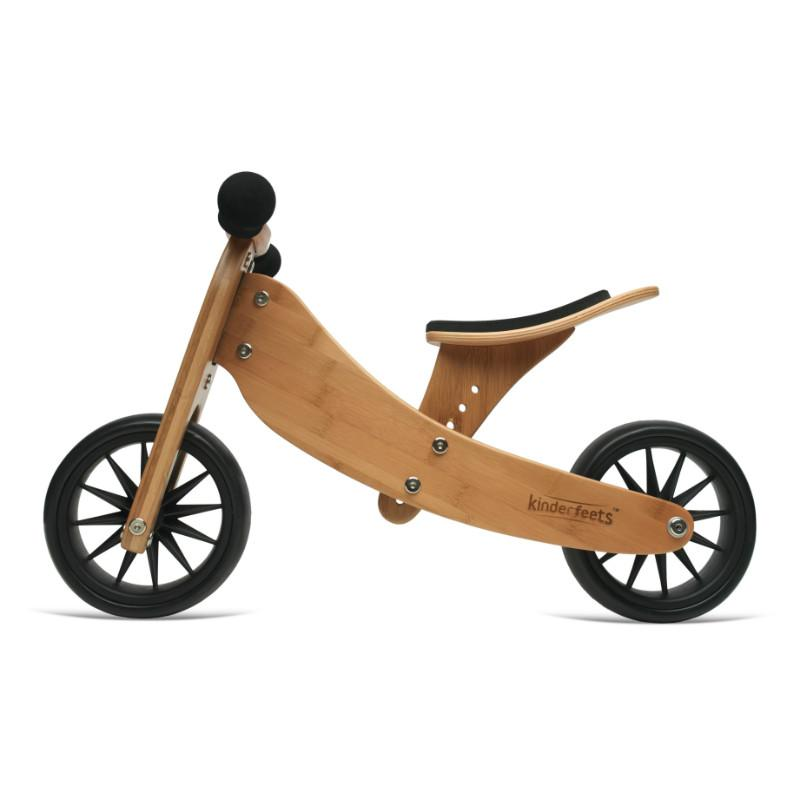 Kinderfeets Tiny Tot 2 in 1 Trike in Bamboo