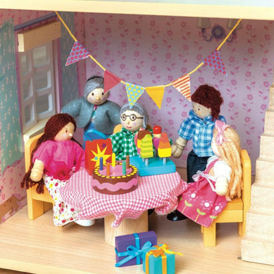 Le Toy Van Party-Time Dolls' House Accessory Pack