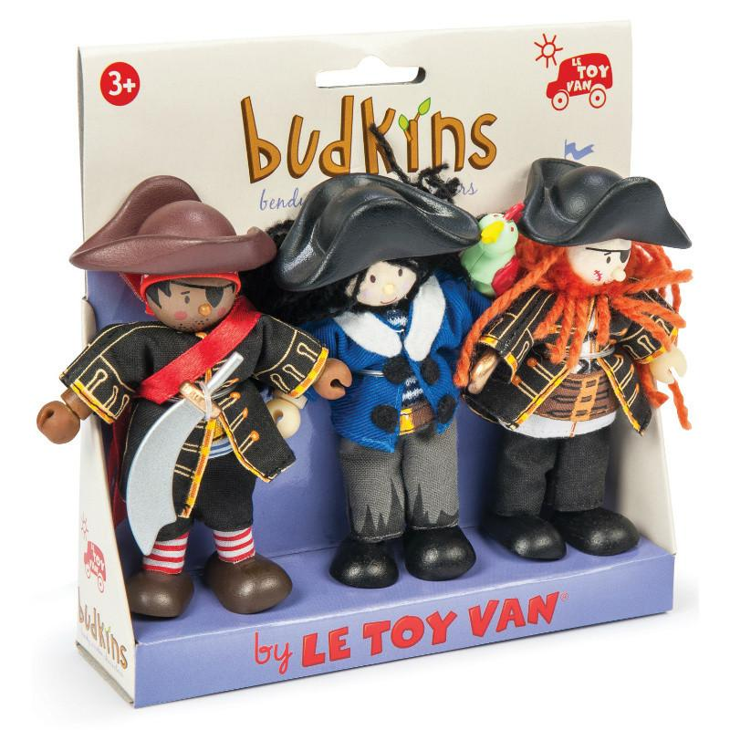 Le Toy Van Budkins Buccaneers Triple Set