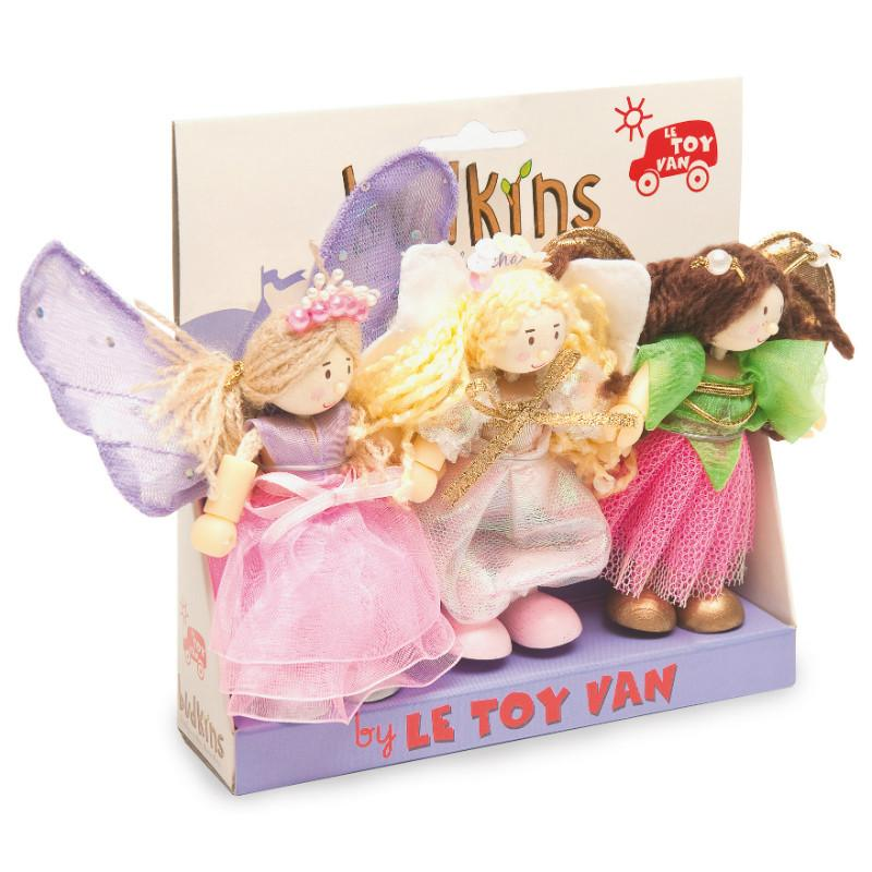 Le Toy Van Budkins Fairy Triple Set