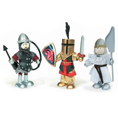 Le Toy Van Budkins Knights Triple Set