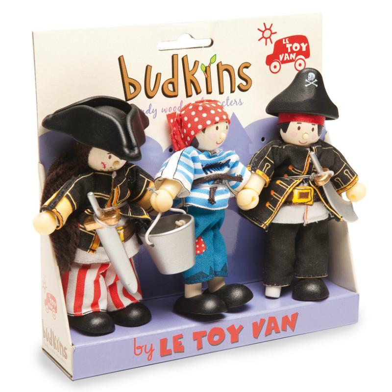 Le Toy Van Budkin Pirates Triple Set