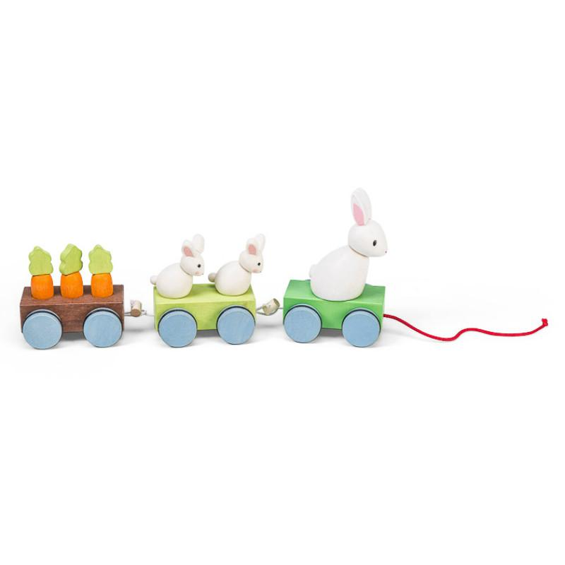 Petilou Bunny Train
