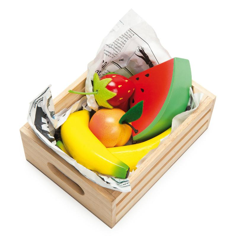 Smoothie Fruits in a Crate