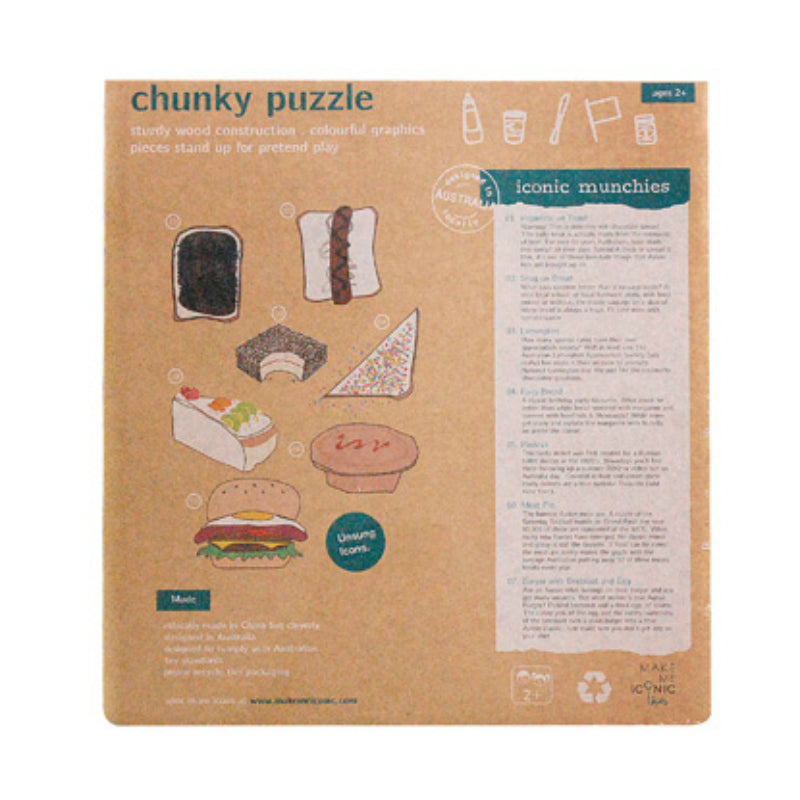 Make Me Iconic Australian Munchies Puzzle