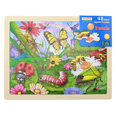 Masterkidz Insects 48 Piece Jigsaw Puzzle