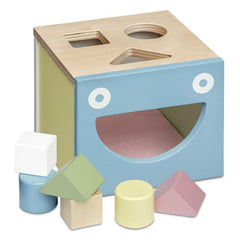 Pastel Shape Sorting Box