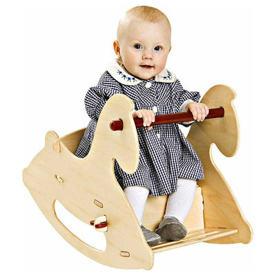 Moover Rocking Horse Natural Baby Riding