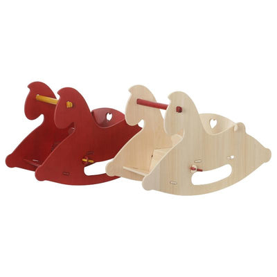Moover Rocking Horse Natural Red