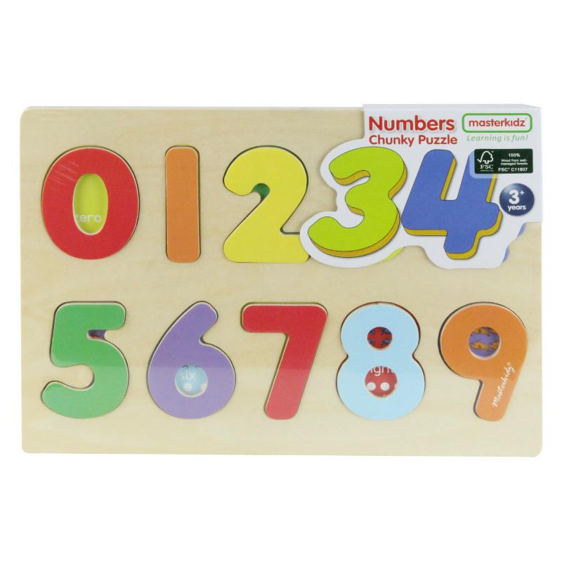 Masterkidz Numbers Chunky Puzzle