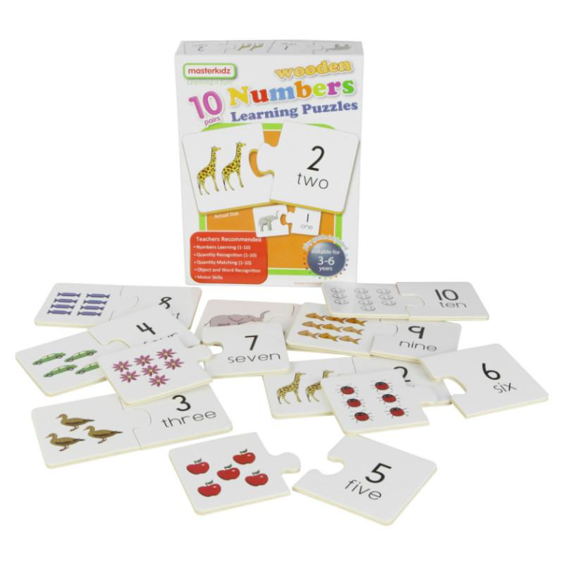 Masterkidz Numbers Learning Puzzles