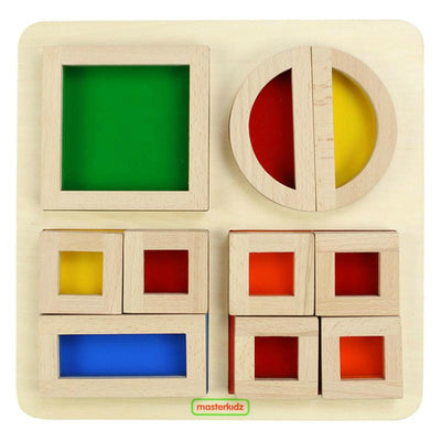 Masterkidz Rainbow Block Shapes