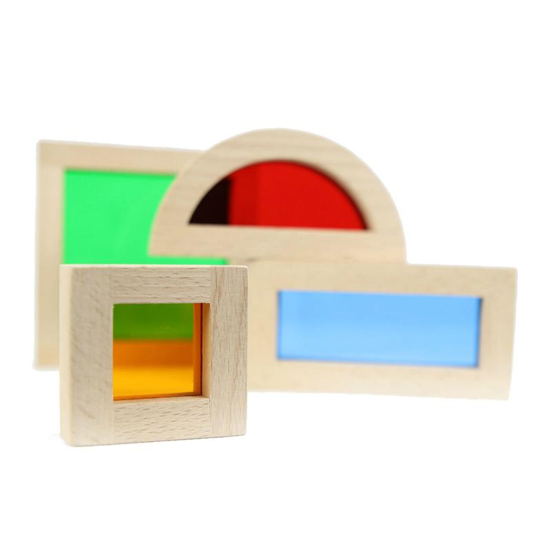 Rainbow Block Shapes