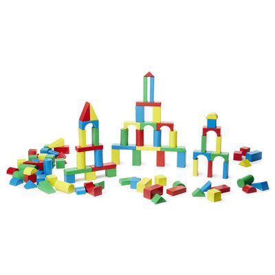 Melissa & Doug 100 Wood Blocks